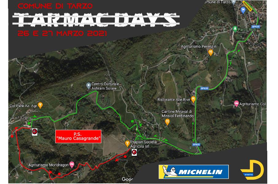 Cartina Tarmac Days 2021
