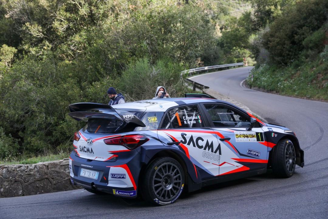 LogisticaUno RallyCup by Michelin 2021: Corrado Fontana brinda in coppa, ma non in gara